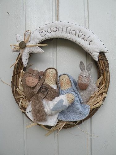 Nativity Wreath*