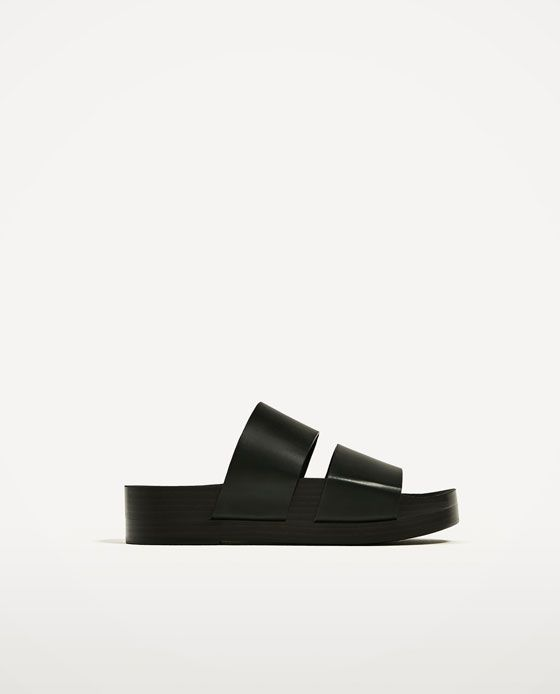 Image 2 of JOIN LIFE STRAPPY SLIDES from Zara