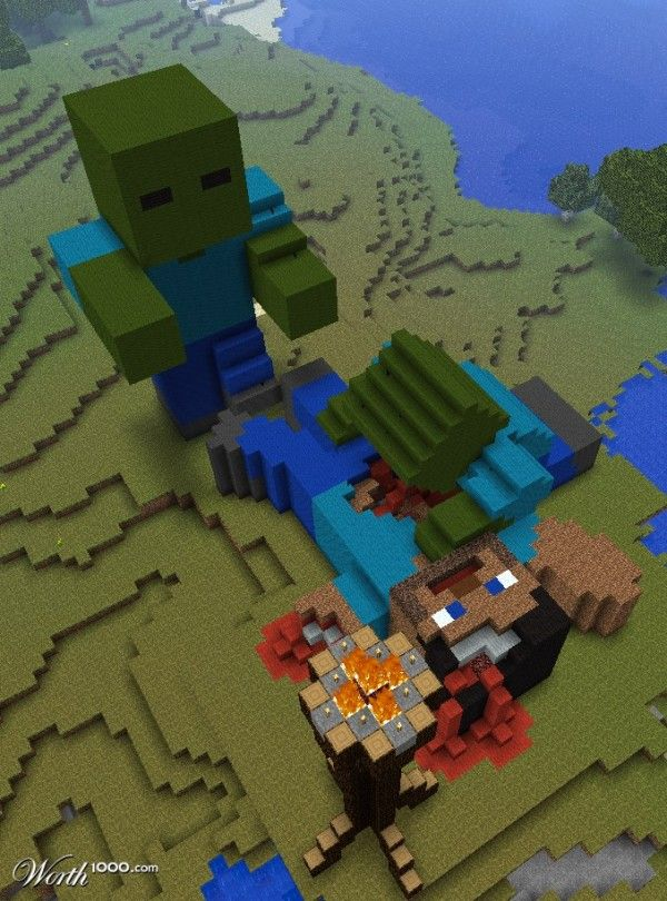 awesome minecraft creations | 20 Awesome Minecraft Build Pictures | TechnoBuffalo