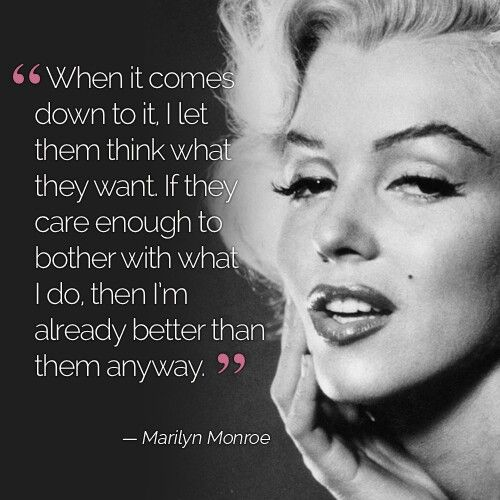 Marilyn Monroe Pinterest : @uniquenaja ☼
