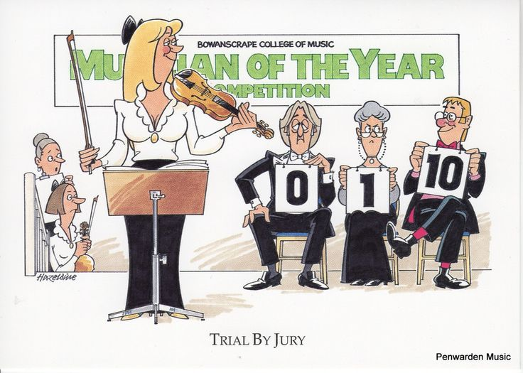 Joan Butler Classics Greeting Card - Trial By Jury