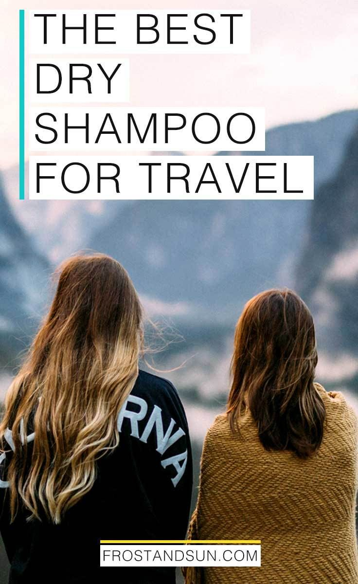 Dry shampoo is awesome for travel. You can freshen up your hair before a night out super quick or look presentable after a long flight with a few spritzs on your mane. Check out my guide to dry shampoo for more tips! #beautytips #hairtips #dryshampoo #travelbeauty