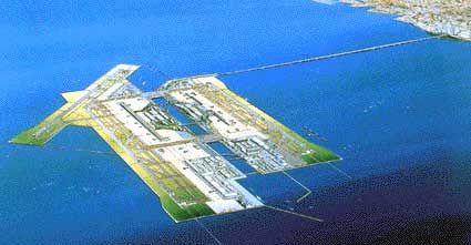 関西国際空港 (Kansai International Airport - KIX/RJBB) en 泉佐野市, 大阪府
