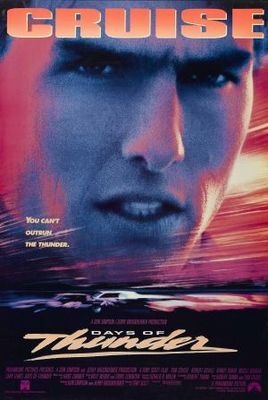 Days of Thunder (1990) movie #poster, #tshirt, #mousepad, #movieposters2