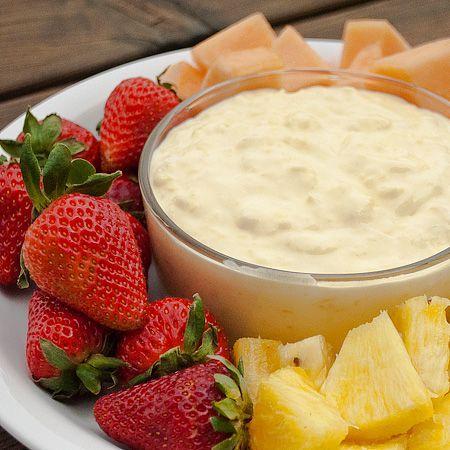 Pina Colada Fruit dip: Pinacolada, Piña Colada, Colada Fruit, Cool Whipped, Crushes Pineapple, Coconut Cream, Fruit Dips, Dips Recipes, Bowls