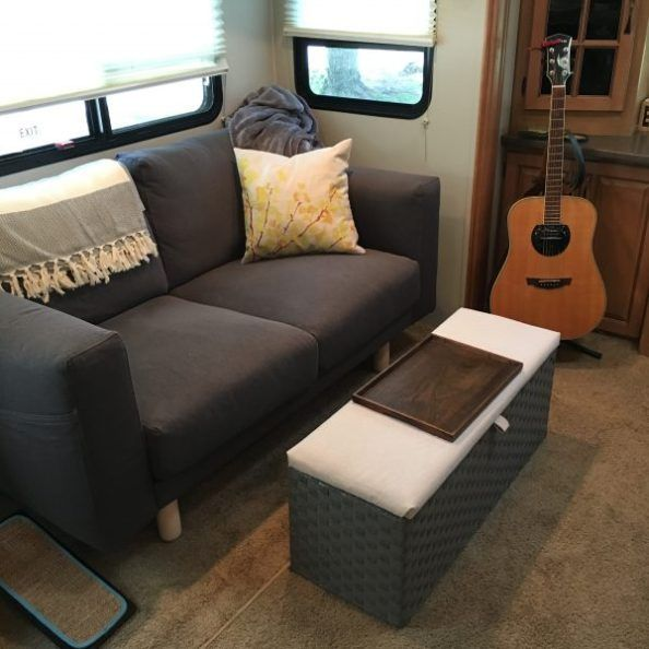 Rv Sofa Bed Replacement Ideas W Pictures Camper Furniture Rv Furniture Rv Sofa Bed