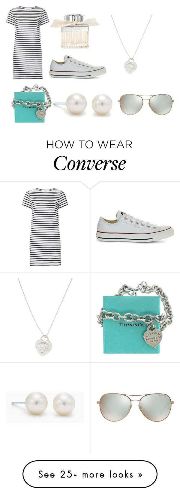 """""""A little bit of Tiaffany and co."""" by soph-133 on Polyvore featuring M.i.h Jeans, Converse, Chloé and Tiffany & Co."""