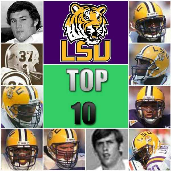 Louisiana State University represents the LSU football best players of all time. Don't miss to know their roster, mini bio and game winning formulas.