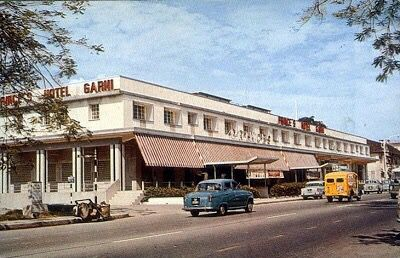 Prince's Hotel Garni at the junction of Orchard & Bideford Roads, directly across the present Mandarin Hotel. Circa 1960s.