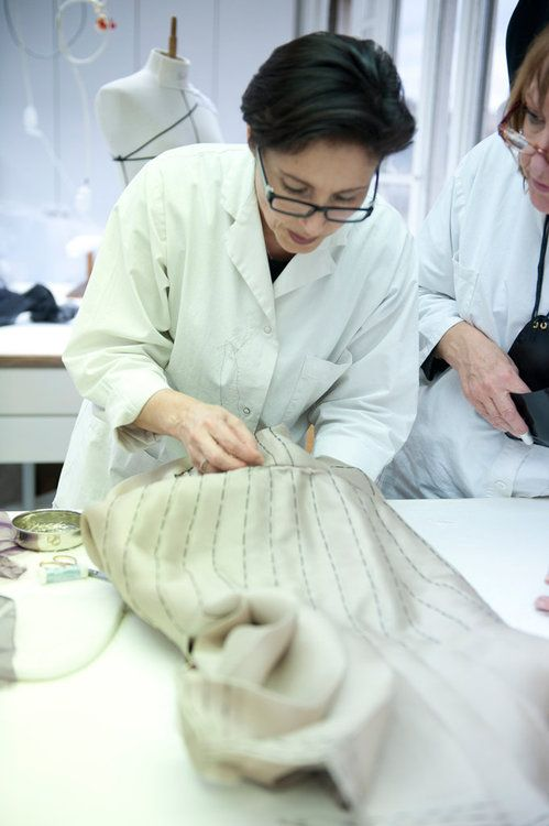 The making of Dior haute couture