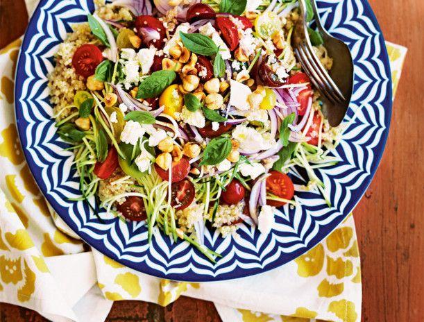 Unser beliebtes Rezept für Quinoa-Salat mit Feta und mehr als 55.000 weitere kostenlose Rezepte auf LECKER.de.