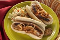 Sheboygan-style Bratwurst   From the Kitchens at Kendall College: Sheboygan-style Bratwurst Recipe - Kendall College