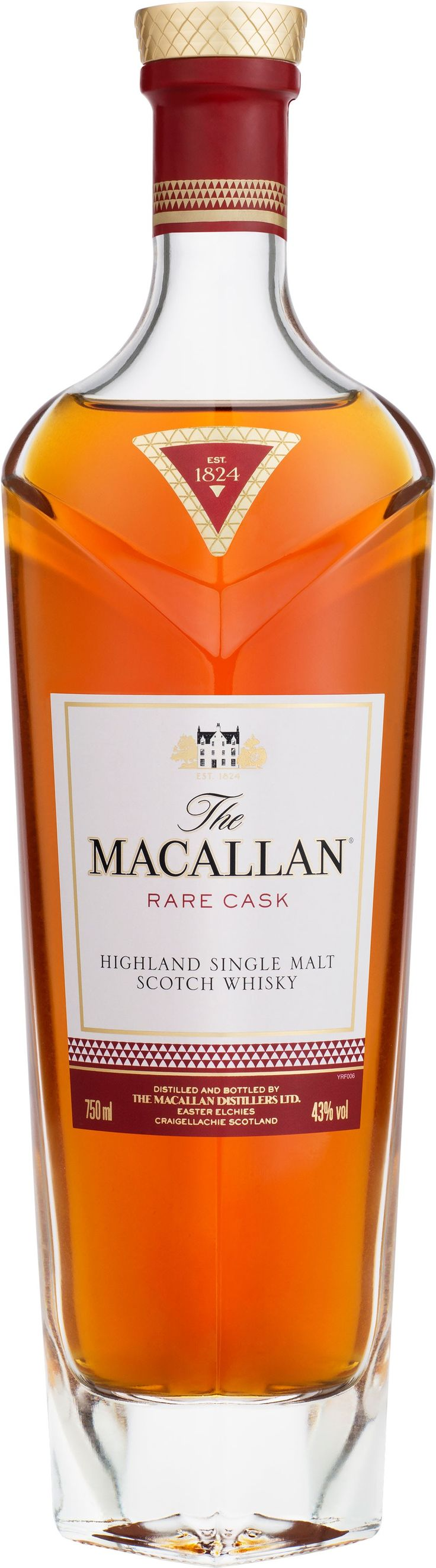 The newest addition to Macallan's 1824 Masters Series, this whisky was crafted from casks hand-selected by Macallan's #whisky maker. #liquor