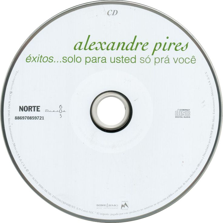 Caratula Cd de Alexandre Pires - Exitos... Solo Para Usted - So Pra Voce