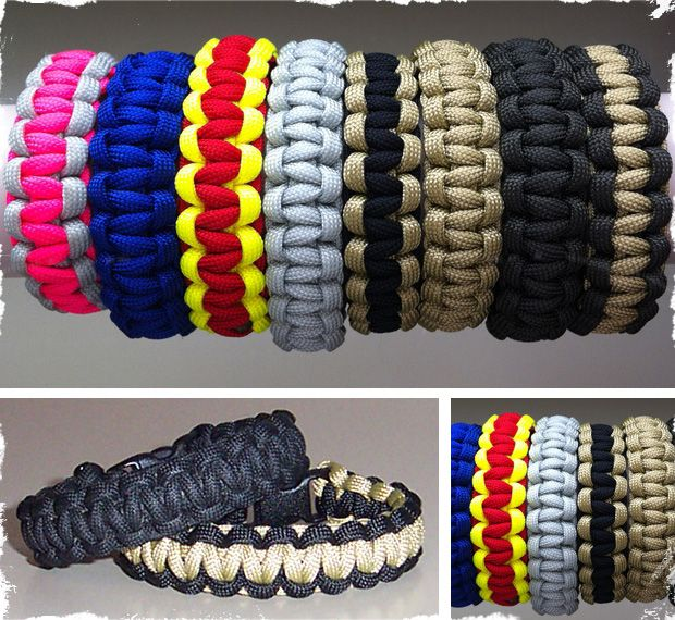 Paracord Survival Bracelets - Great Father's Day Present!