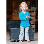 Silky Label - Maroc Blue overslag tuniekjee, mooie baby basics en kids basics.