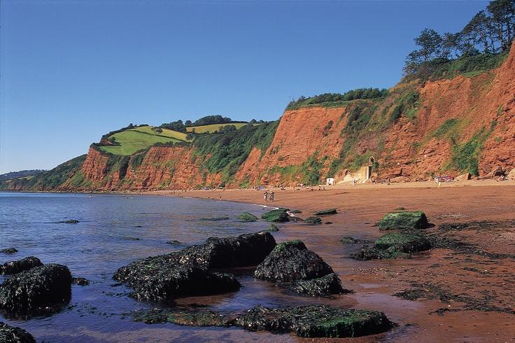 Ness Cove beach, Shaldon, South Devon