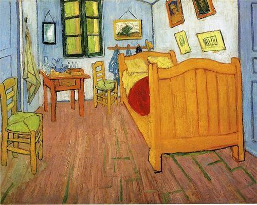 Vincent van Gogh - Bedroom in Arles (La Chambre à Arles) (1888)