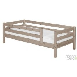 Flexa bed with frame