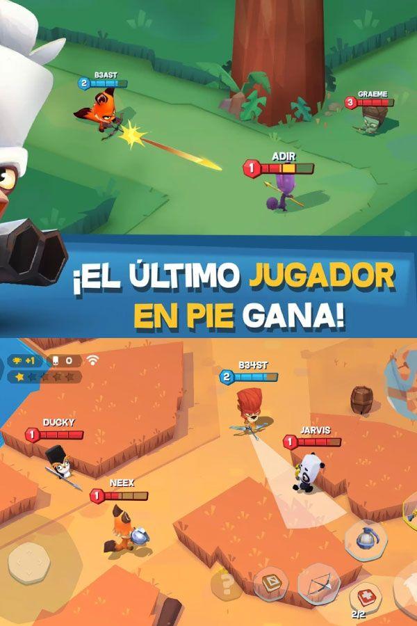 Zooba Juego De Batalla Animal Gratis Apk Mod Battle Gratis