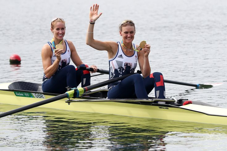 Glover and Stanning win gold for Team GB at Rio 2016