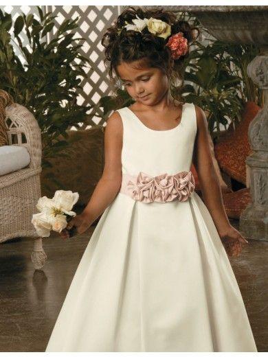 42 best flower girl dresses images on pinterest girls for Kelly clarkson wedding dress replica