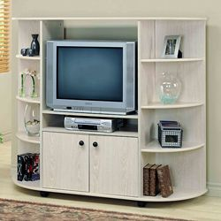 Washed Oak 32-inch TV Entertainment Center | Overstock.com Shopping - Great Deals on Entertainment Centers