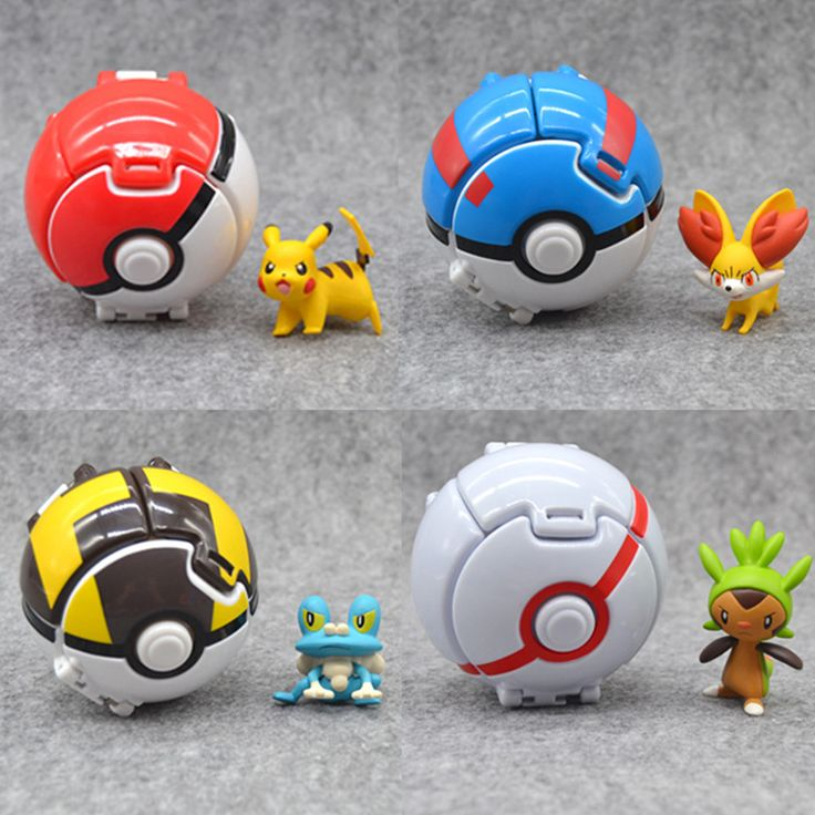 Throw Bounce Pokeball Pokenmons Pikachu Anime Action Figures Children Elf Go Toys 2016 Kids Action Figure Toys Robot for $6.90 Gender: UnisexCommodity Attribute: Finished GoodsAge Range: > 3 years oldItem Type: PuppetsMaterial: PVCScale: 1/60By Animation Source: JapanSoldier Accessories: Soldier Finished ProductModel Number: PokemonBrand Name: TENSOGERCondition: In-Stock ItemsVersion Type: First EditionWarning: noDimensions: 8cmTheme: Movie & TVMfg Series Number: ModelRemote Control…