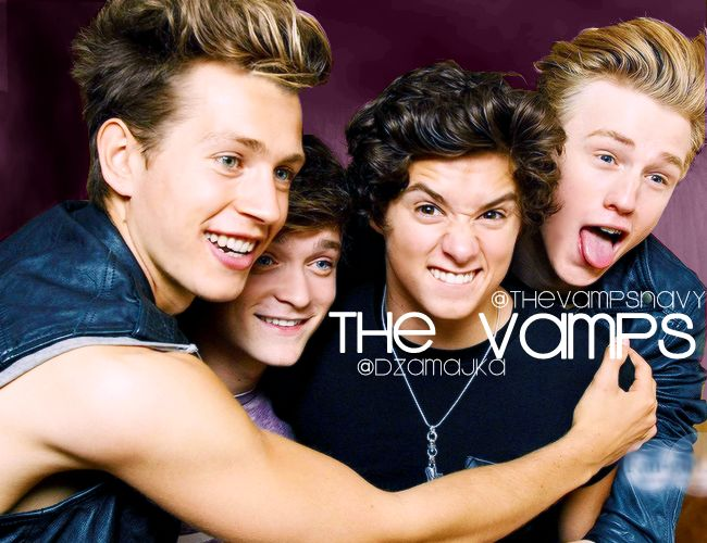 Told my self after I was obsessed with 1D i wouldn't fall for another band then came the Vamps.....I broke that promise!