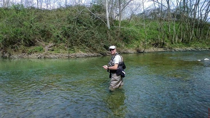 La nostra prima volta, nella Tail Water del fiume SIEVE... Grande giornata!!! Le dritte di Alessandro Sgrani ci sono state d'aiuto.