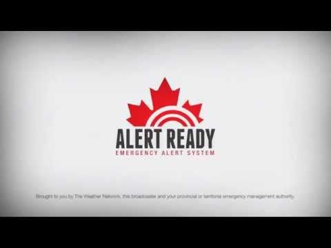 Alert Ready - Canadian Emergency Alert Service. The Weather Network