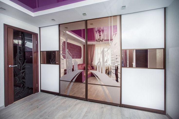 Mais de 1000 ideias sobre porte coulissante miroir no pinterest placard sur - Dressing porte coulissante miroir ...