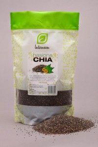 Niewielkie nasiona Chia, tzw. szałwii hiszpańskiej skrywające w sobie niezwykłą moc. Dostarczają kwasów tłuszczowych Omega 3 i Omega 6, źródło łatwo przyswajalnego białka, wiele witamin i minerałów. Dzięki swoim właściwościom do absorbowania cieczy zaleca się je do przygotowywania puddingów czy do zagęszczania zup lub sosów. Ponadto mogło być ciekawym dodatkiem do sałatek, musli, ziemniaków czy do wypieku chleba.   Cena - 9,59 zł / 250g