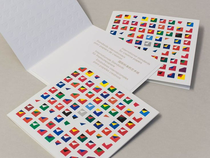 Arjowiggins Creative Papers - Greetings card 2014. Designed by North (UK) & printed on Rives Sensation Matt Tactile Bright White.