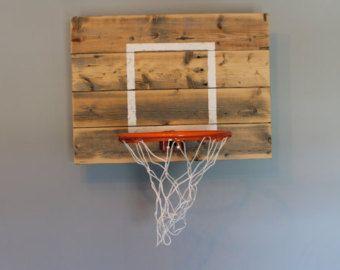 Medida reclamada aro de baloncesto madera por IndustrialDesignsByB