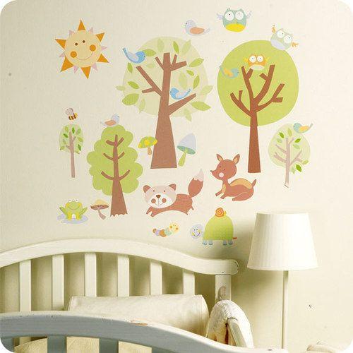 Wallies #Wandsticker - Animal Tales. #wandtattoo für #kinderzimmer gibt's bei #babyartikel.de