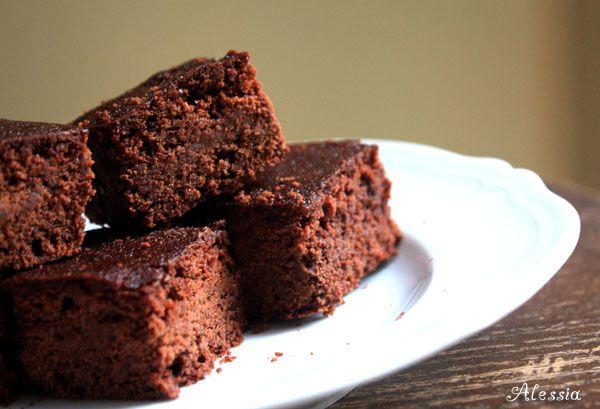 Brownies cioccolato e caramello salato -   ricetta: http://ilpandizenzero.it/sito/brownies-cioccolato-e-caramello-salato/