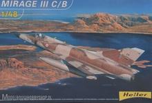 HELLER-Plastic-modelbouw-Mirage-III-C-B1:48