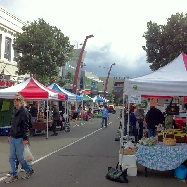 Farmers Market Taranaki, New Plymouth, New Zealand
