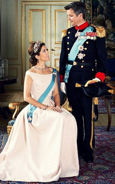 Princess Mary and Prince Frederik of Denmark