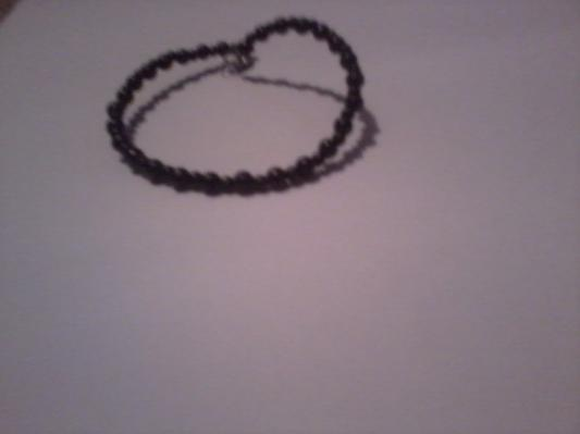 simple black bracelet: Black Bracelets, Art, Kathryn, Jewelry, Simple Black