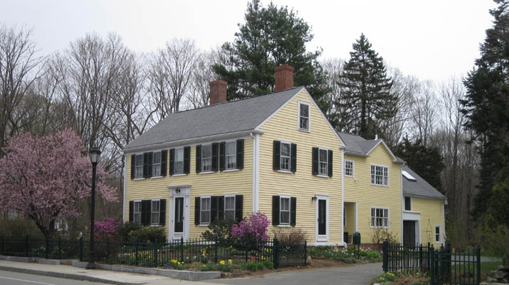 New England Colonial Colonials Pinterest