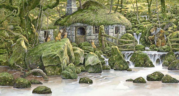 Зеленые картины David Wyatt