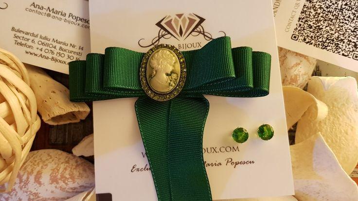 Papion Dama #ANA00001 - Papion dama / accesoriu camasa si cerei.  - Bijuterii Handmade - Ana Bijoux Handmade | Ana-Bijoux.com | Ana Bijoux Group