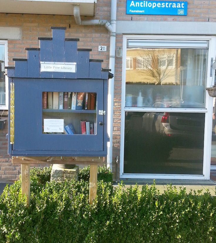 Dit is onze LFL-Almere ! Hier kun je boeken ruilen of lenen.