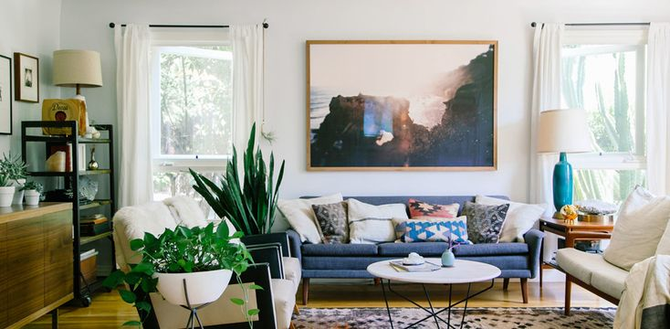 Liven Up Your Living Room with Landscape Art – Canvas: a blog by Saatchi Art