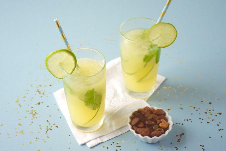 Mocktail pomme-concombre