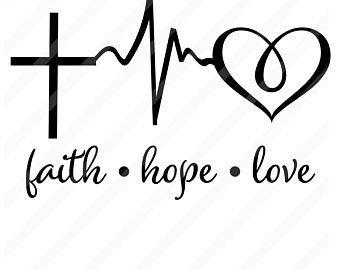 Download Svg   Etsy   Hope tattoo, Faith hope love tattoo, Faith tattoo