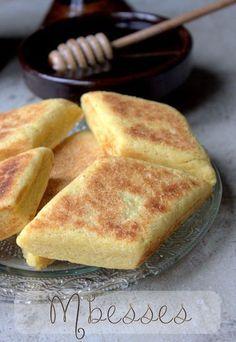 Mbesses gateau de semoule au beurre PURE ALGERIEN !!!