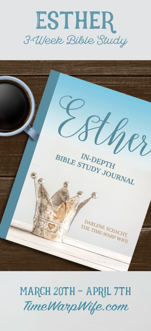 Come join us for our Esther Bible study starting this March.